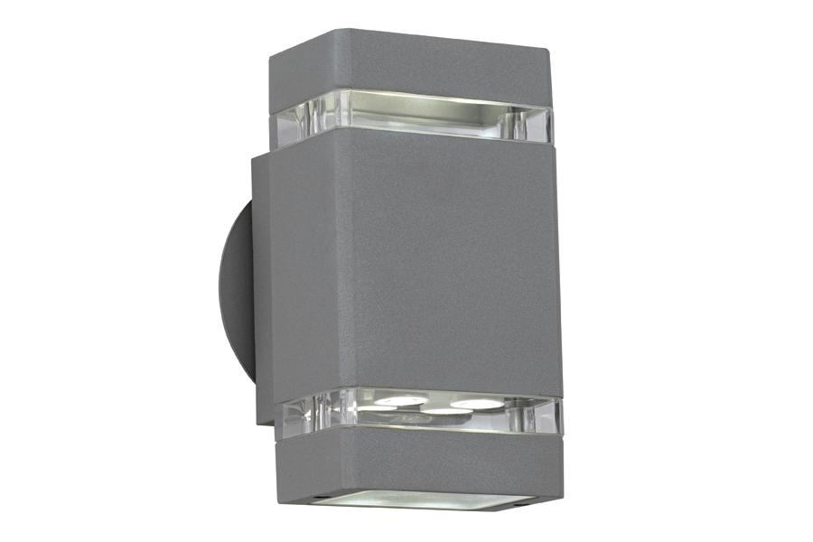 Possini euro design matte silver gray led outdoor wall light lamps possini euro design matte silver gray led outdoor wall light lamps plus architectural lighting magazine products mozeypictures Image collections