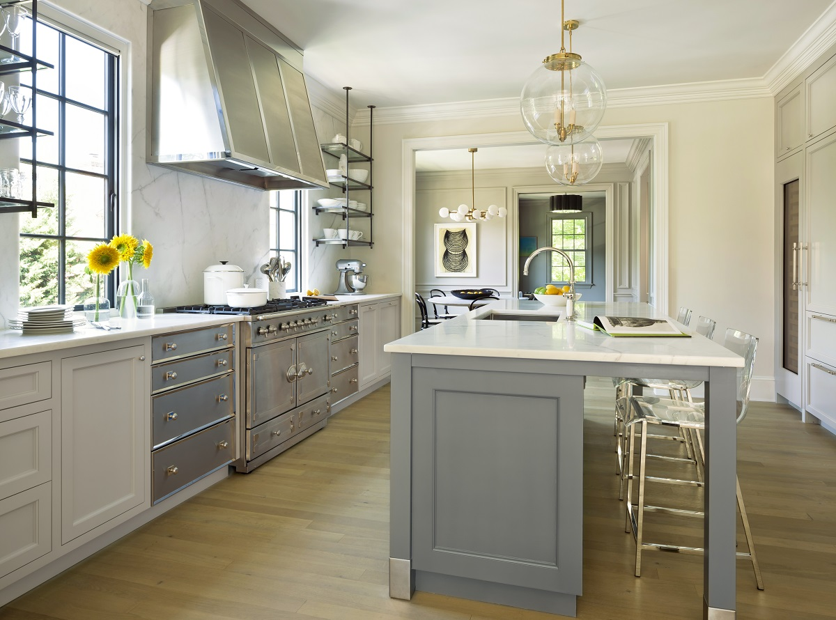 Traditional D.C. Kitchen Enhanced by Contemporary French ...