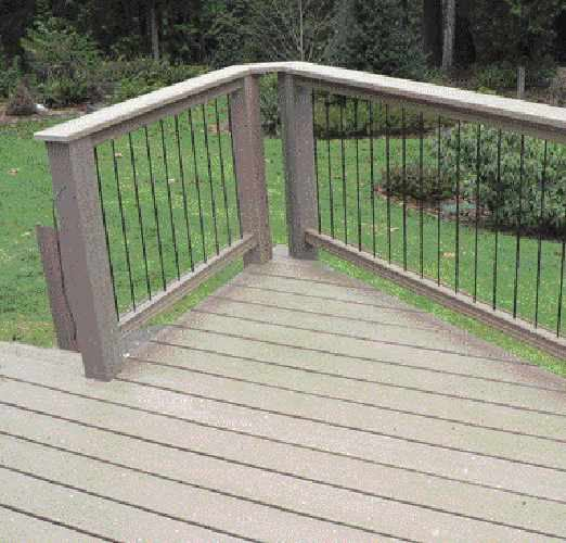 rod railings professional deck builder fencing and. Black Bedroom Furniture Sets. Home Design Ideas