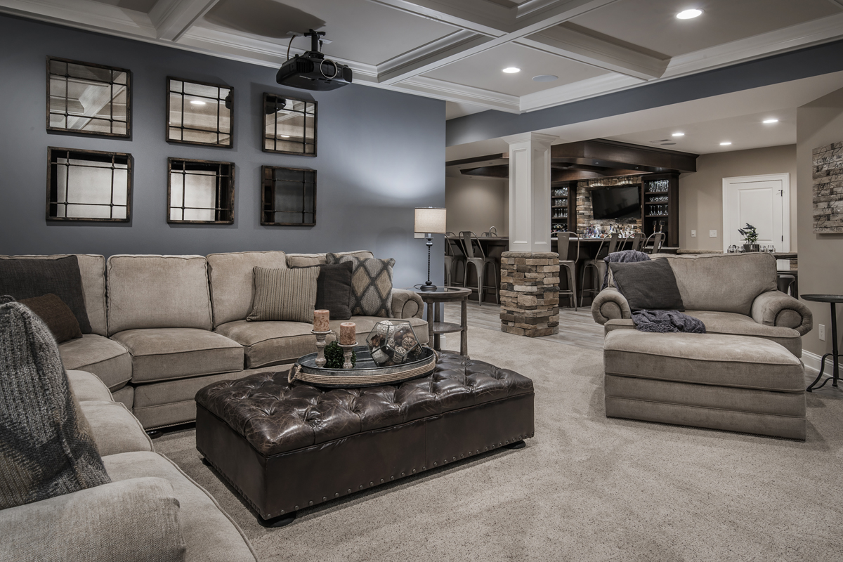 This Remodeled Basement Is The Life Of The Party Remodeling