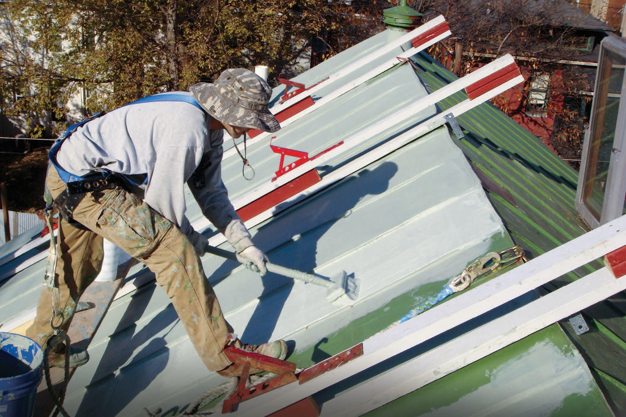 Restoring A Standing Seam Roof Jlc Online