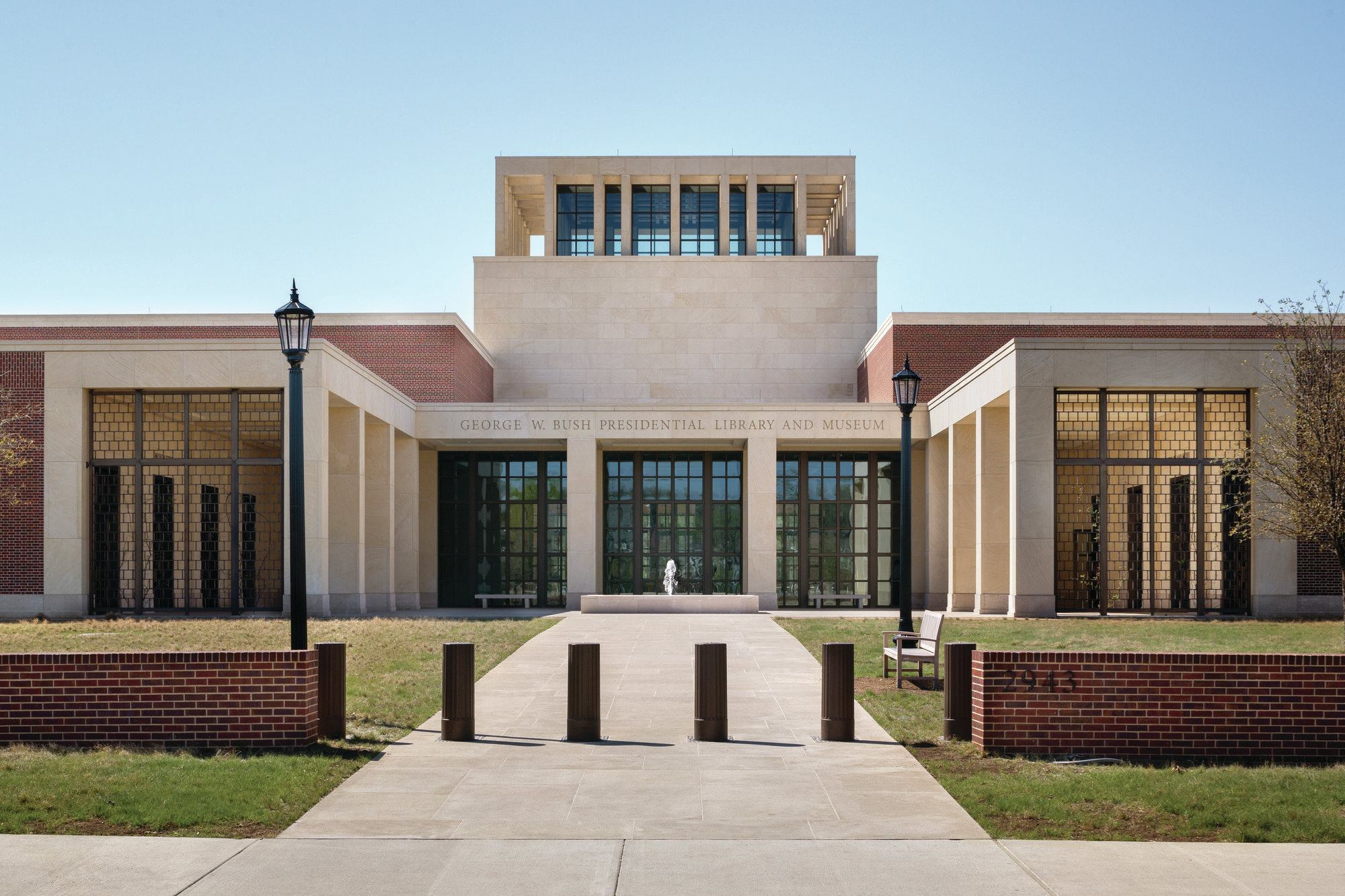 George W. Bush Presidential Center, designed by Robert A.M. Stern ...