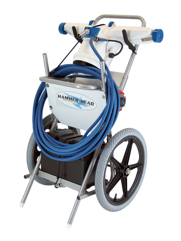 introducing hammerhead patented performance 39 s portable commercial pool vacuum cleaners aquatics. Black Bedroom Furniture Sets. Home Design Ideas