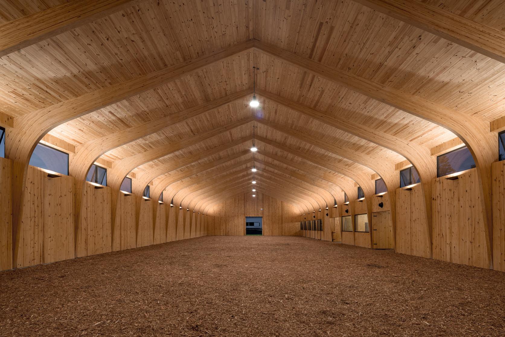 Seven Oaks Farm Arena Architect Magazine