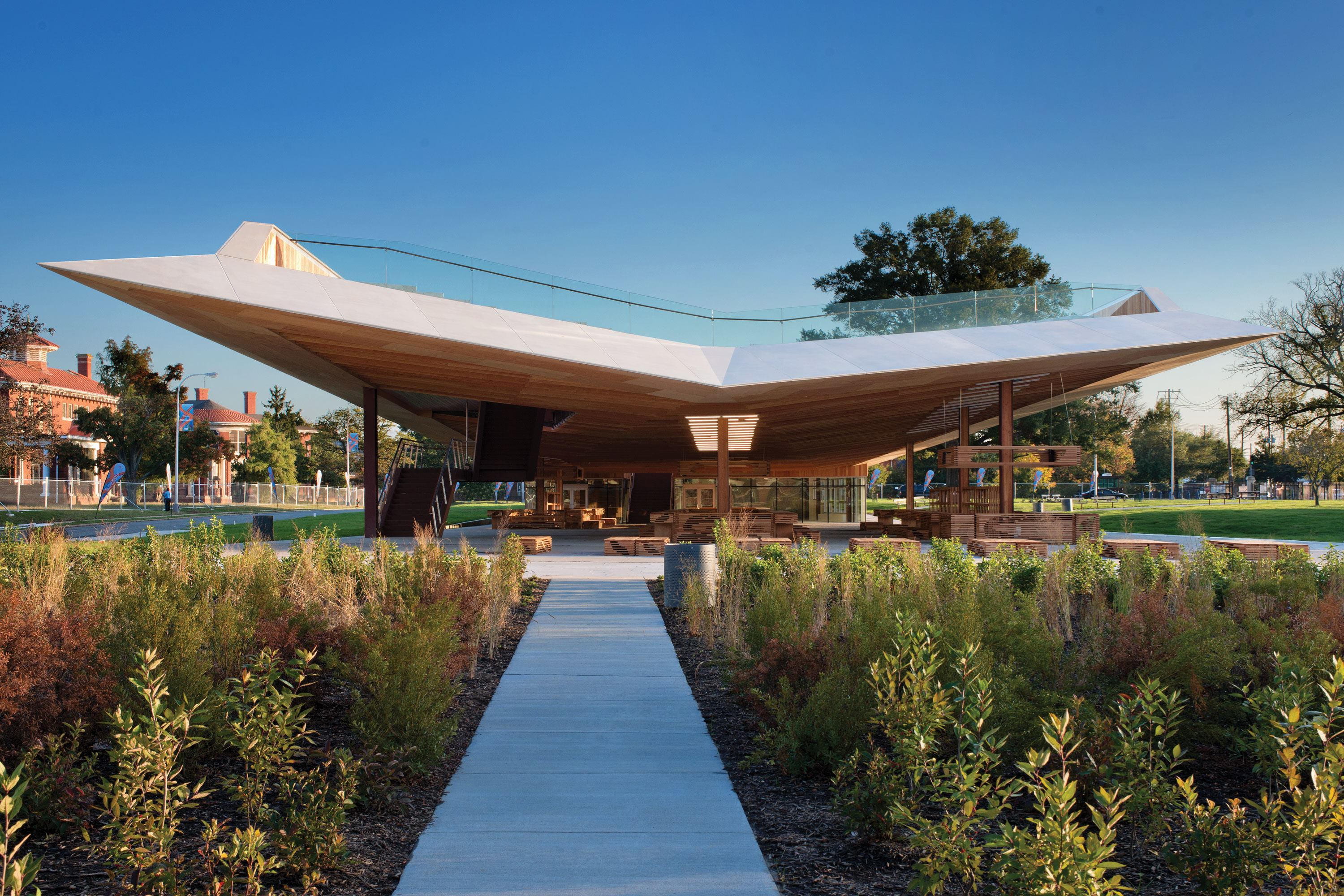 St Elizabeths East Gateway Pavilion Architect Magazine