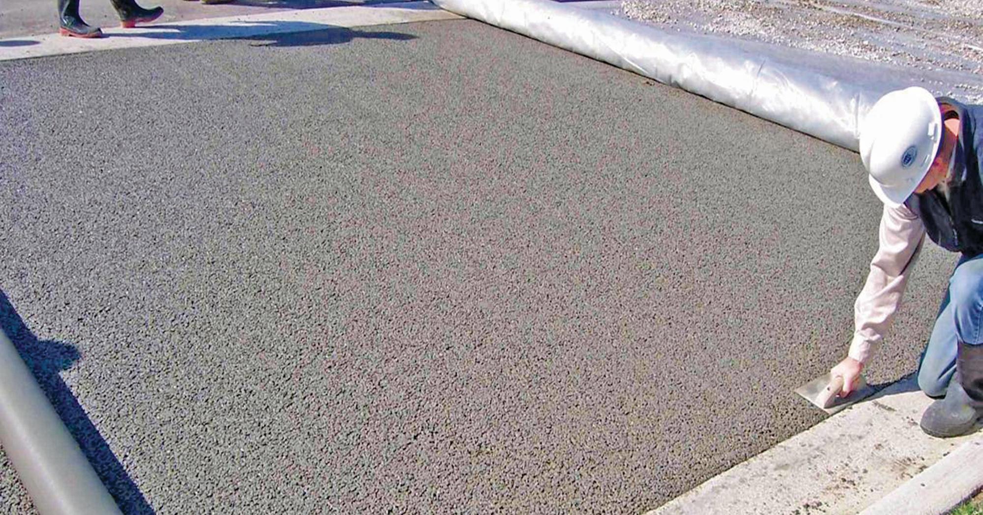 Troubleshooting Pervious Concrete Concrete Construction