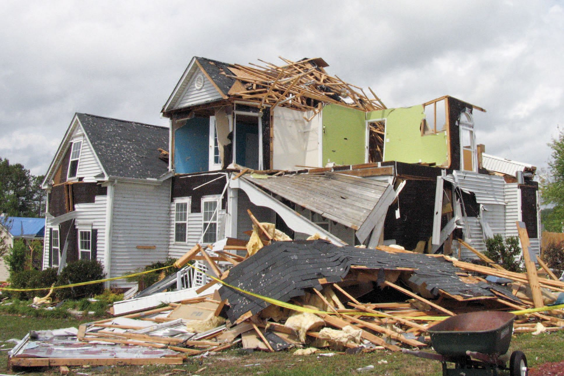 Engineer S Assessment Of Tornado Damaged Homes Jlc Online