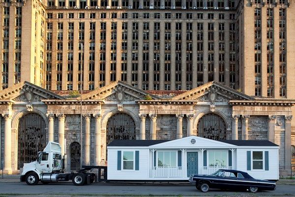 Mike Kelley S Mobile Homestead At Mocad And On Detroit Streets Architect Magazine