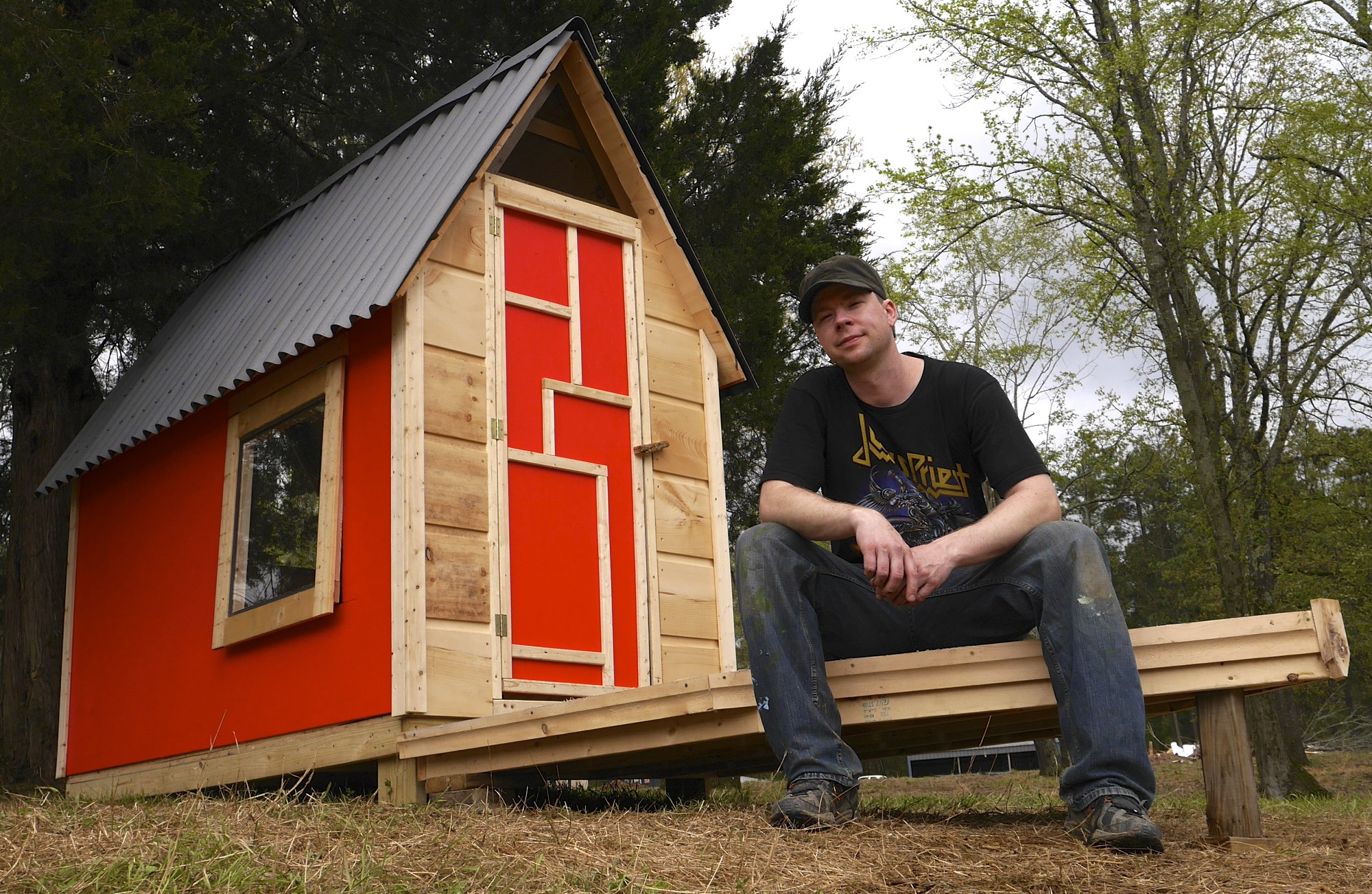 Tiny home q a microshelters author derek diedricksen for Online tiny house builder