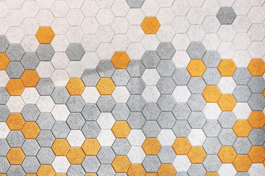 Product Form Us With Love Hexagon Acoustic Tile