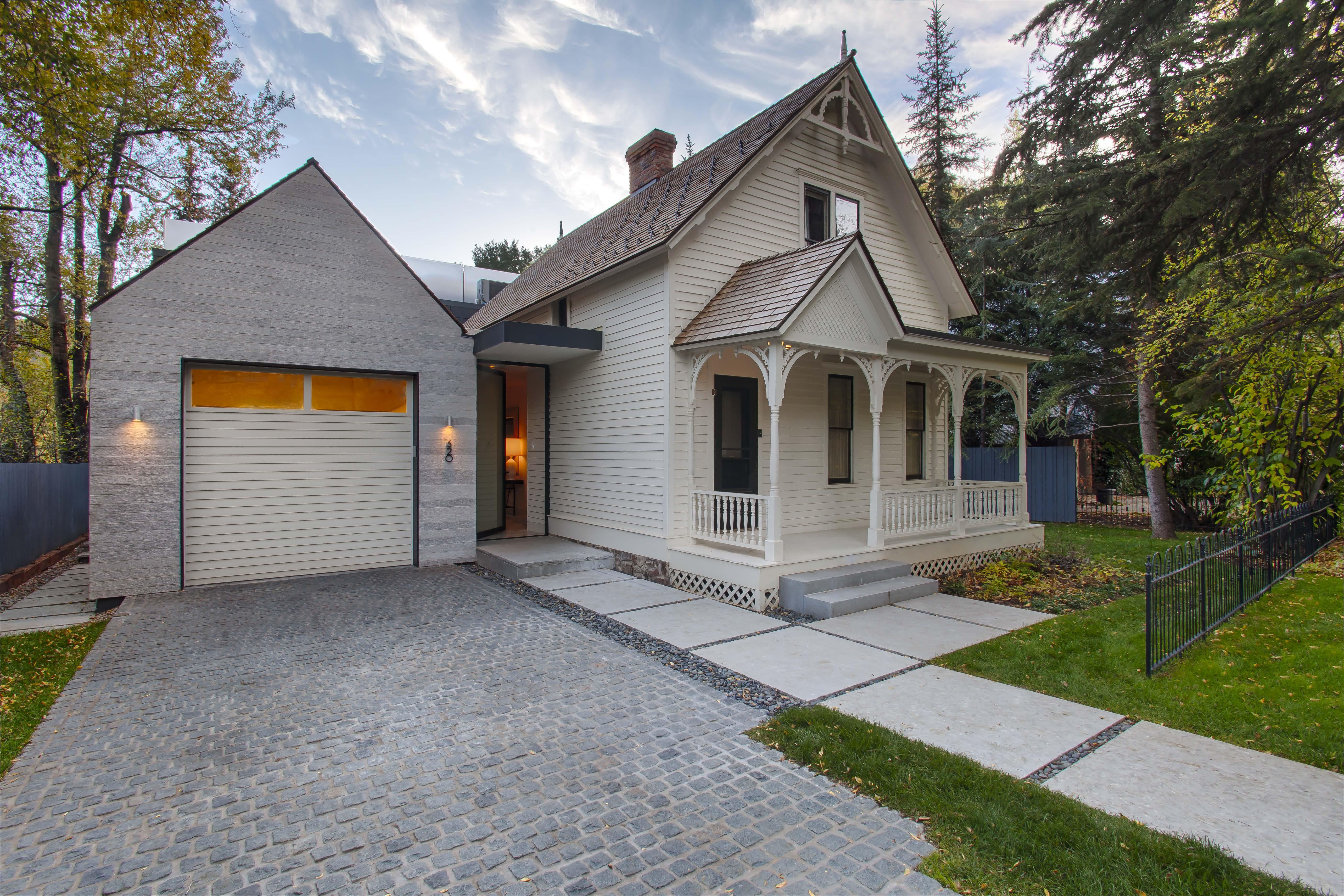 Aspen Historic Lake Residence Renovation Custom Home