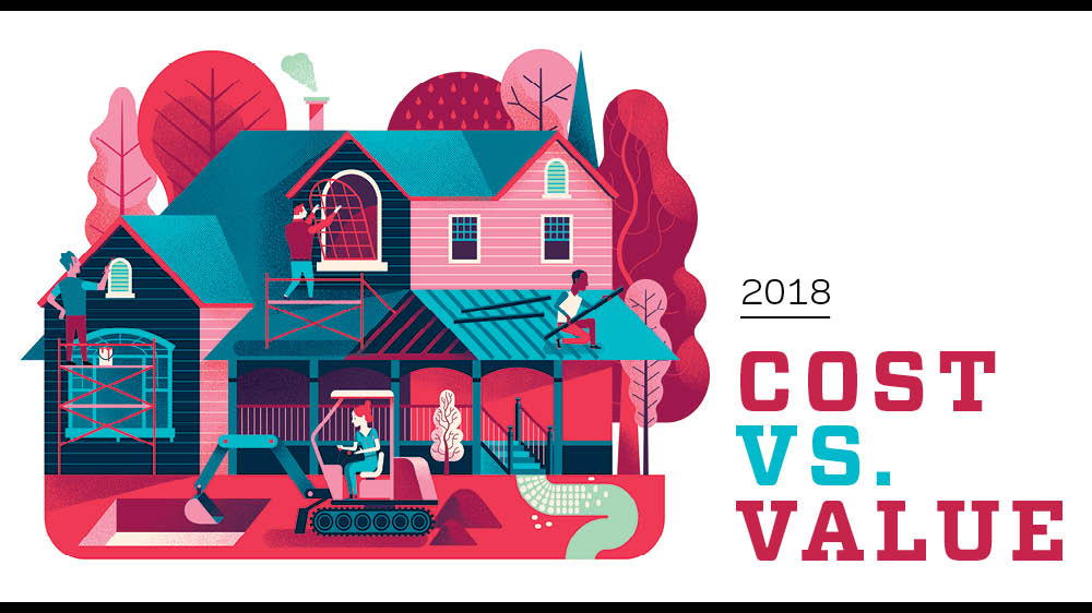 key trends in the 2018 cost vs value report remodeling job