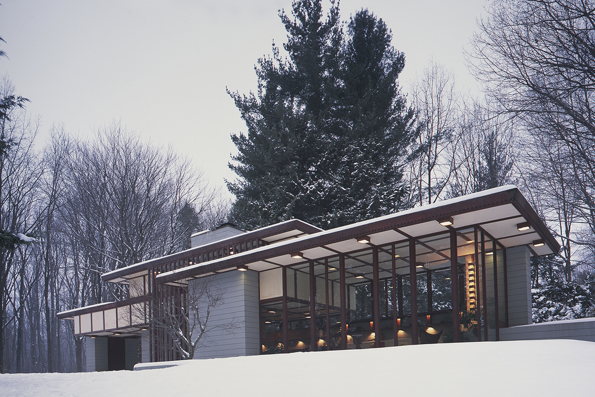 Frank Lloyd Wright's Penfield House is Back on the Market
