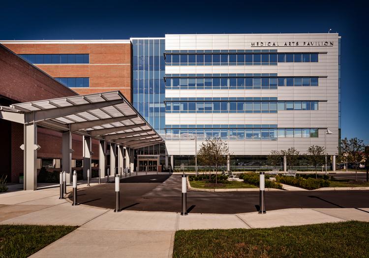 Princeton medical arts pavillion at university medical center architect magazine for Art institute interior design reviews