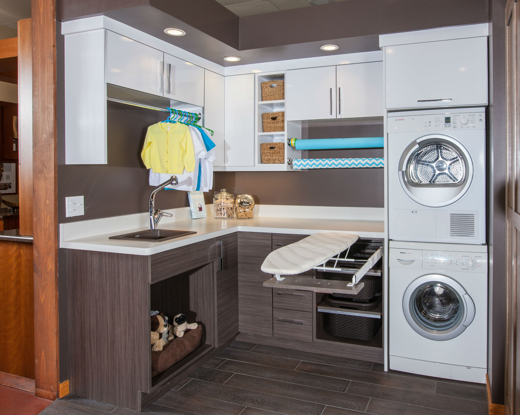 Crystal kitchen bath laundry rooms