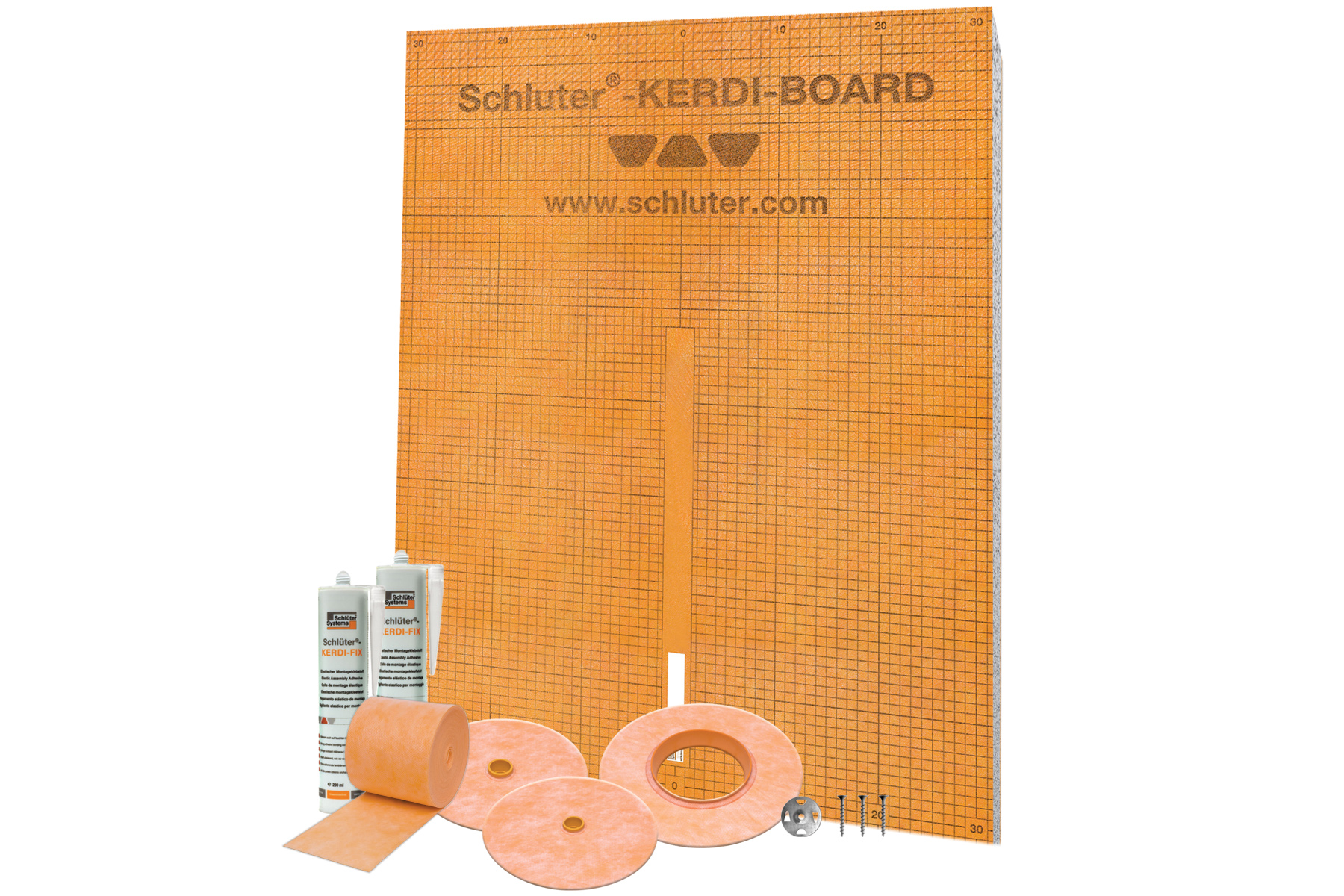 Schluter Systems Kerdi Board Kit Provides Tile