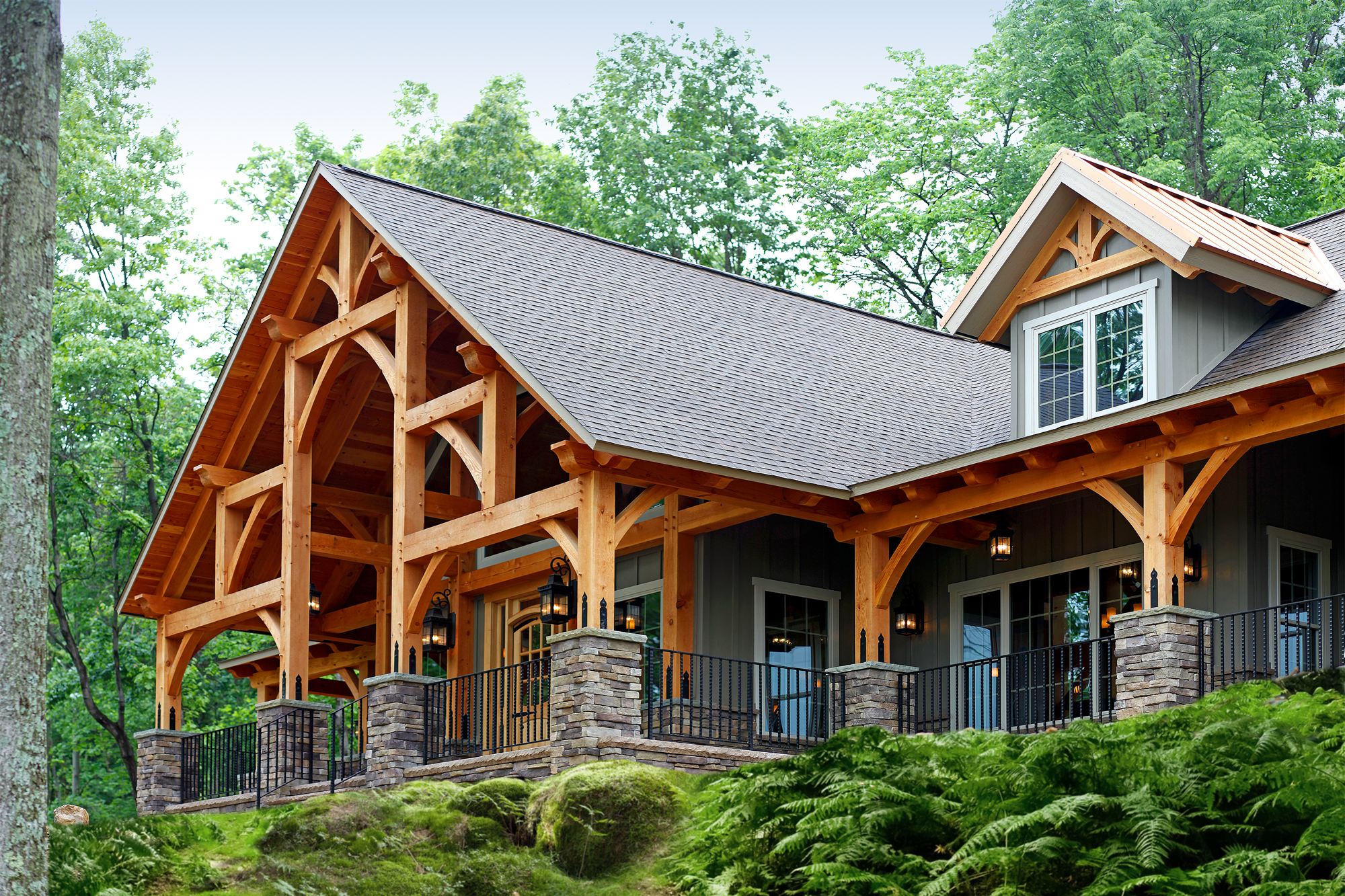 Build An Energy Efficient Timber Frame Home With Sustaility In