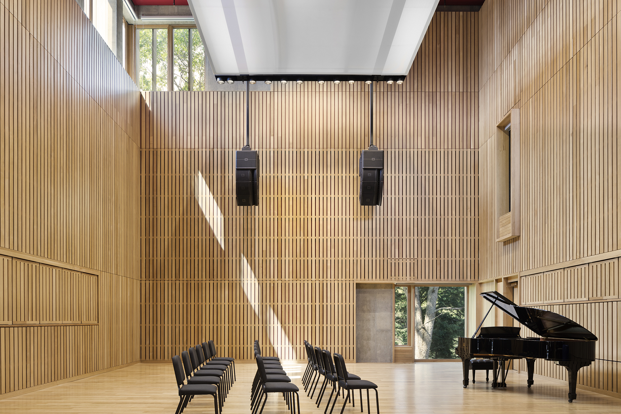 Acoustical Wall System At Wellesley College S Pendleton