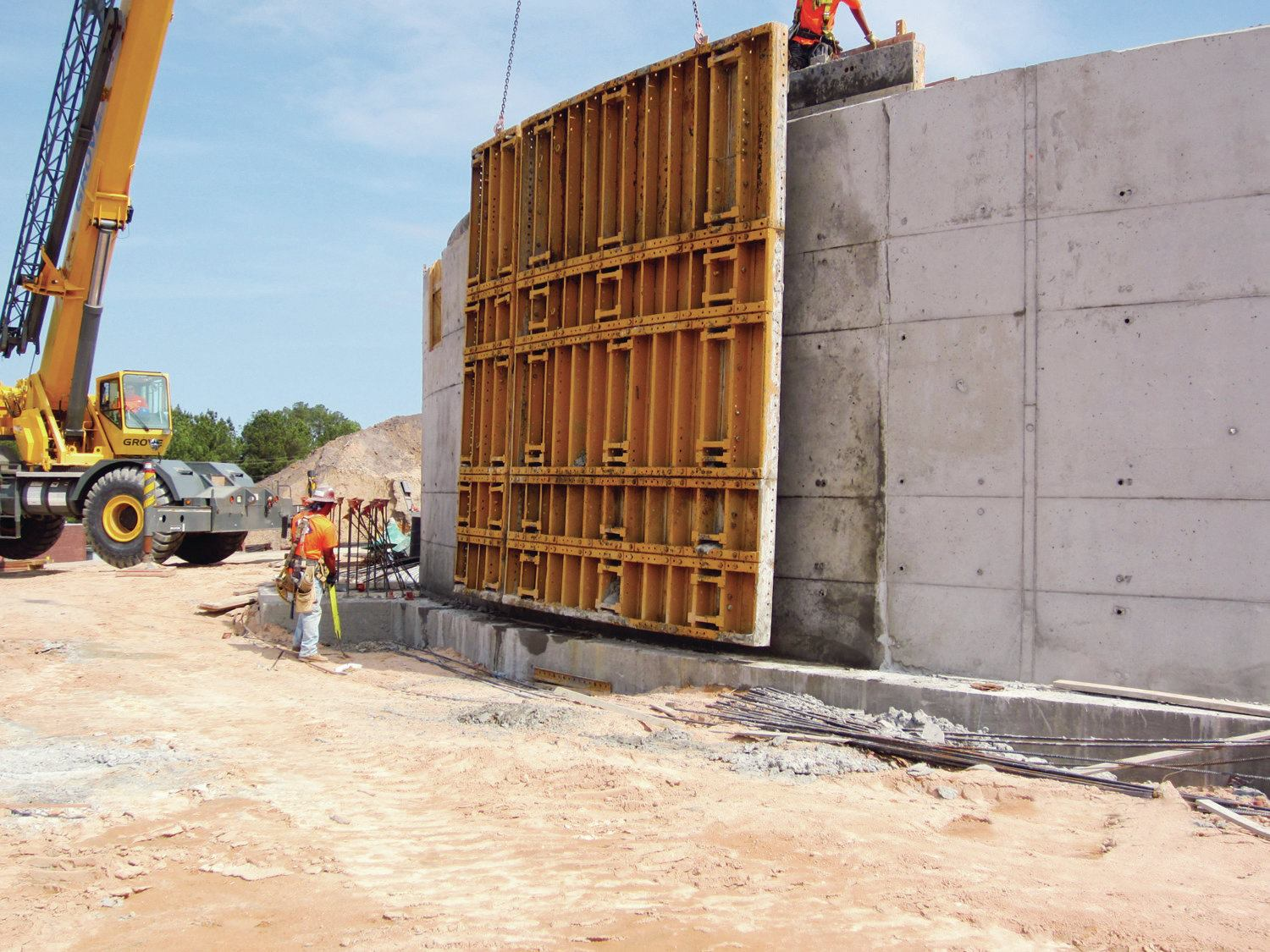 Flexible Formwork Required Concrete Construction Magazine