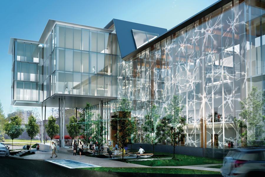 Djavad Mowafaghian Centre For Brain Health Architect
