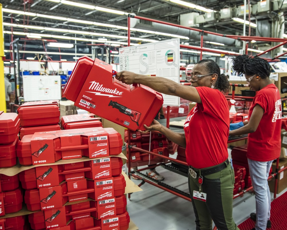 Milwaukee Tool Expands Three Mississippi Operations