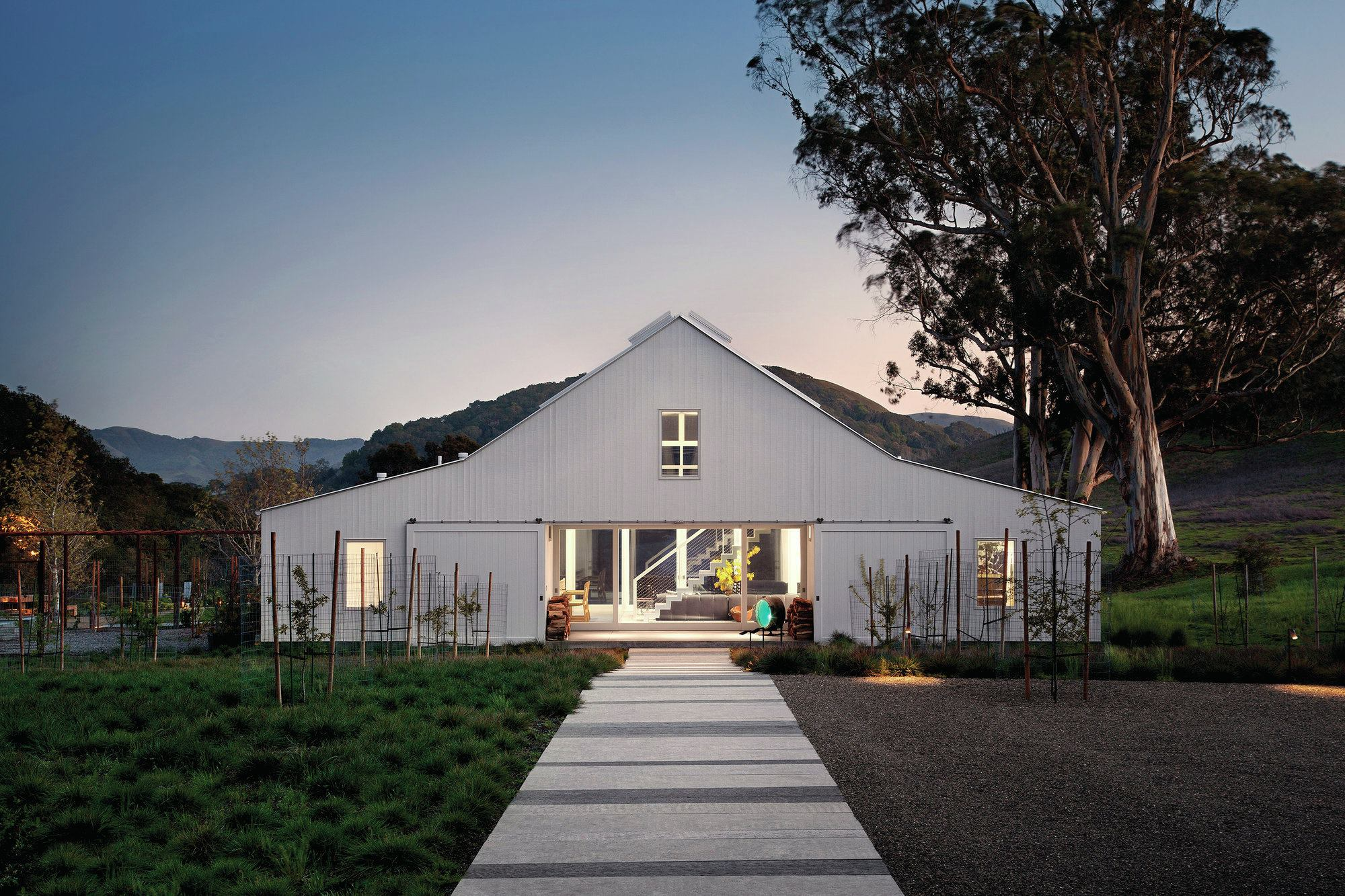 Hupomone Ranch Petaluma Calif Custom Home Magazine