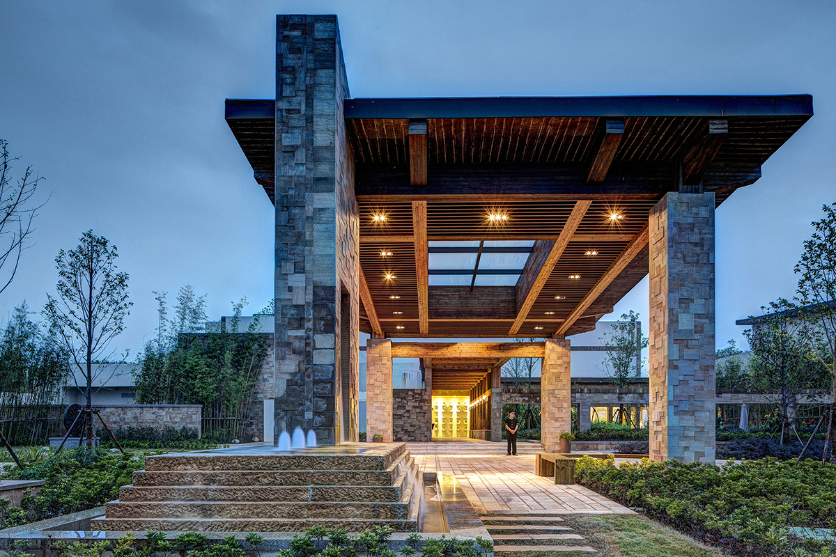 Lushan west sea golf club architect magazine dtj for Golf course home designs