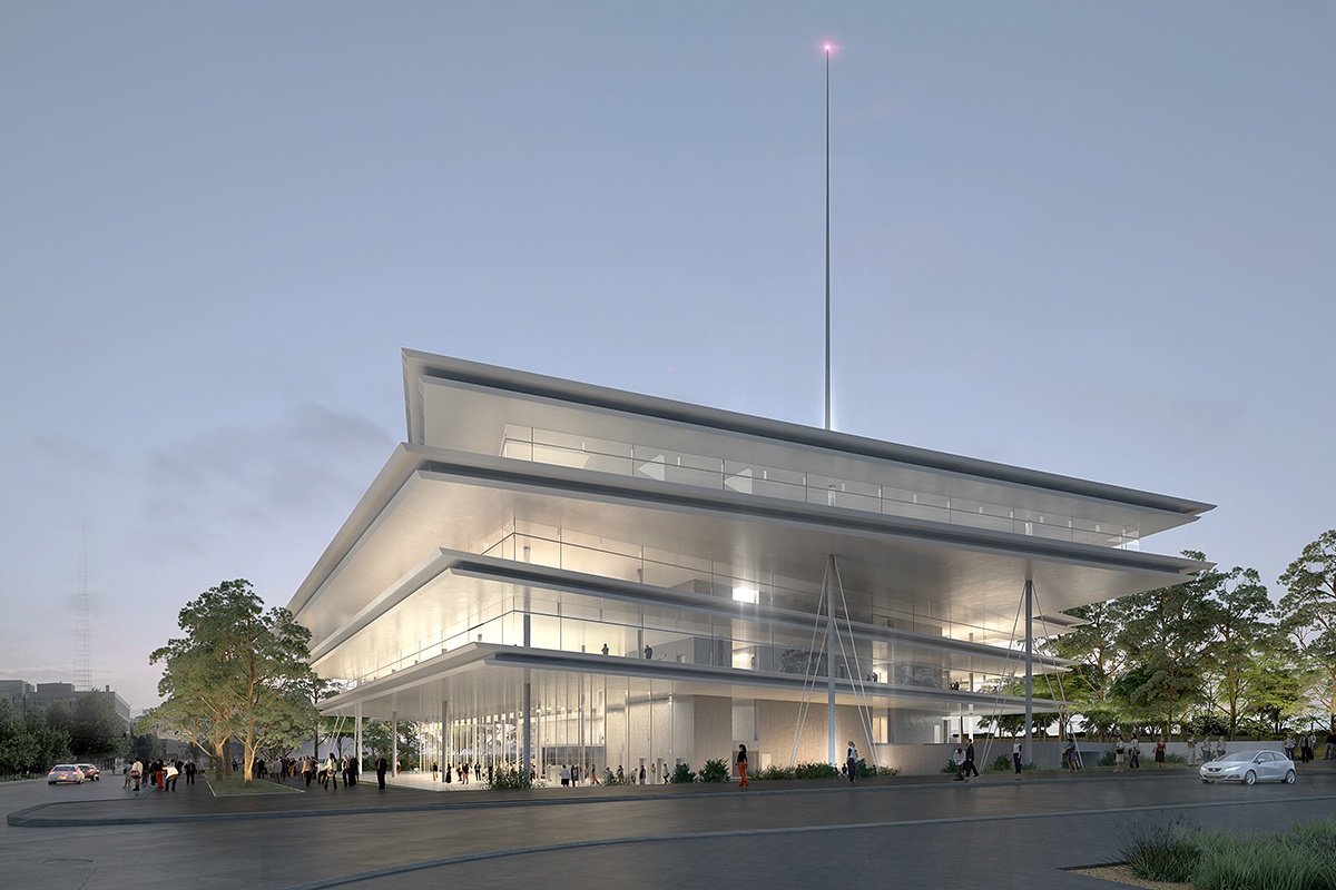 Krause gateway center architect magazine renzo piano for Architect florida