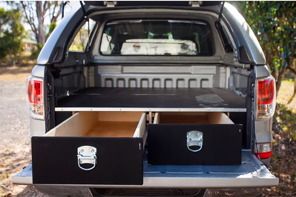 Truck Bed Drawers Tools Of The Trade Fleets Trucks And