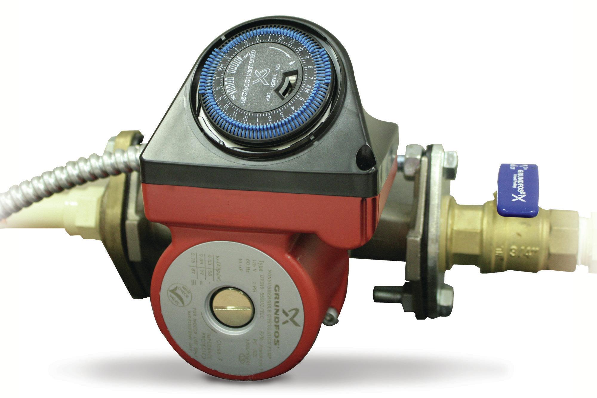 Self Control Rinnai Pump And Timer Kit Remodeling