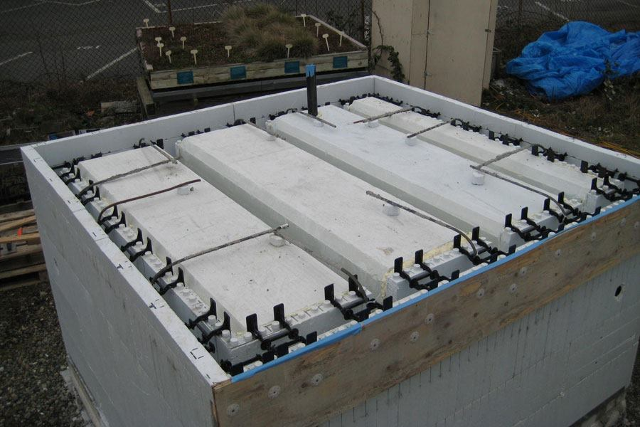 Green Roof Research Confirms Quad Lock Icfs Provide