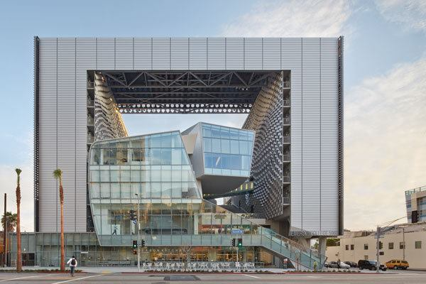 Emerson College Los Angeles >> Emerson College Los Angeles, Designed by Morphosis | Architect Magazine | Education Projects ...