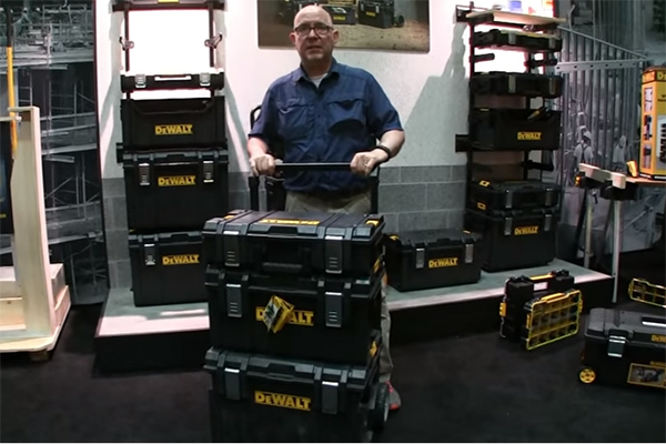 Dewalt Toughsystem Mobile Toolbox Tools Of The Trade
