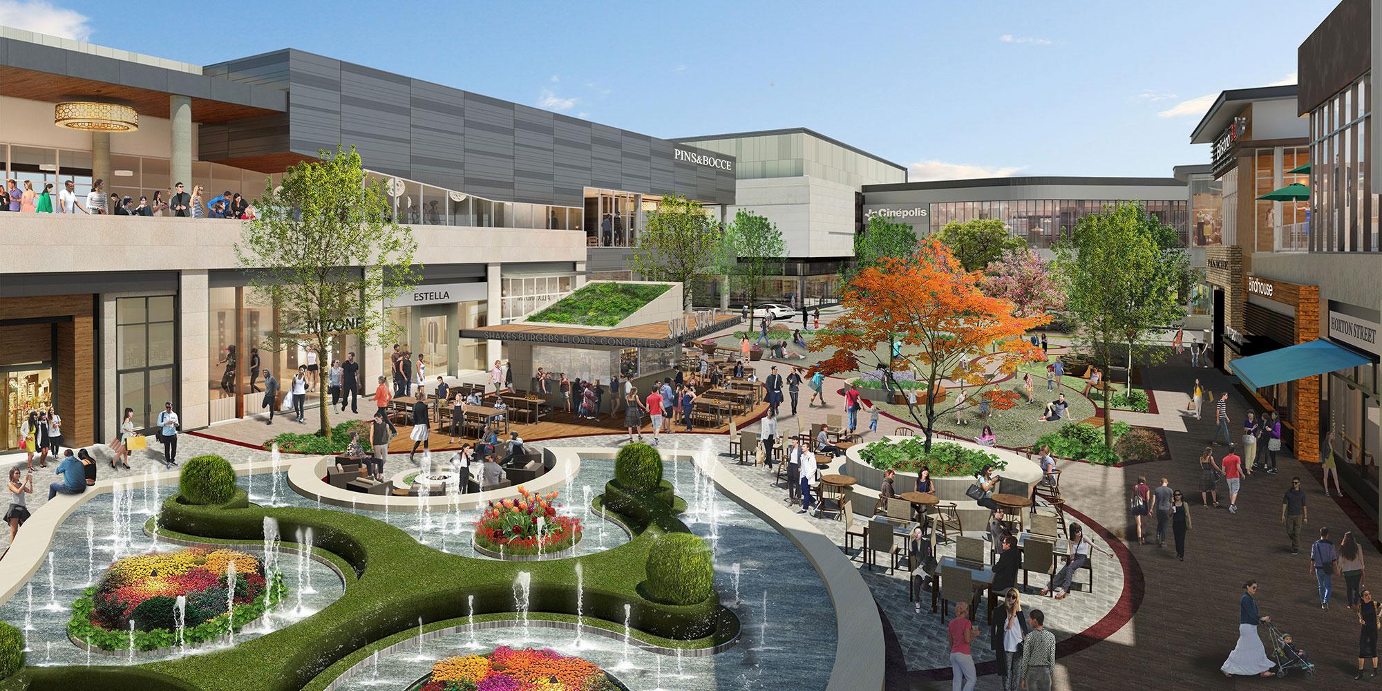 Hillsdale Shopping Center Fountain Architect Magazine