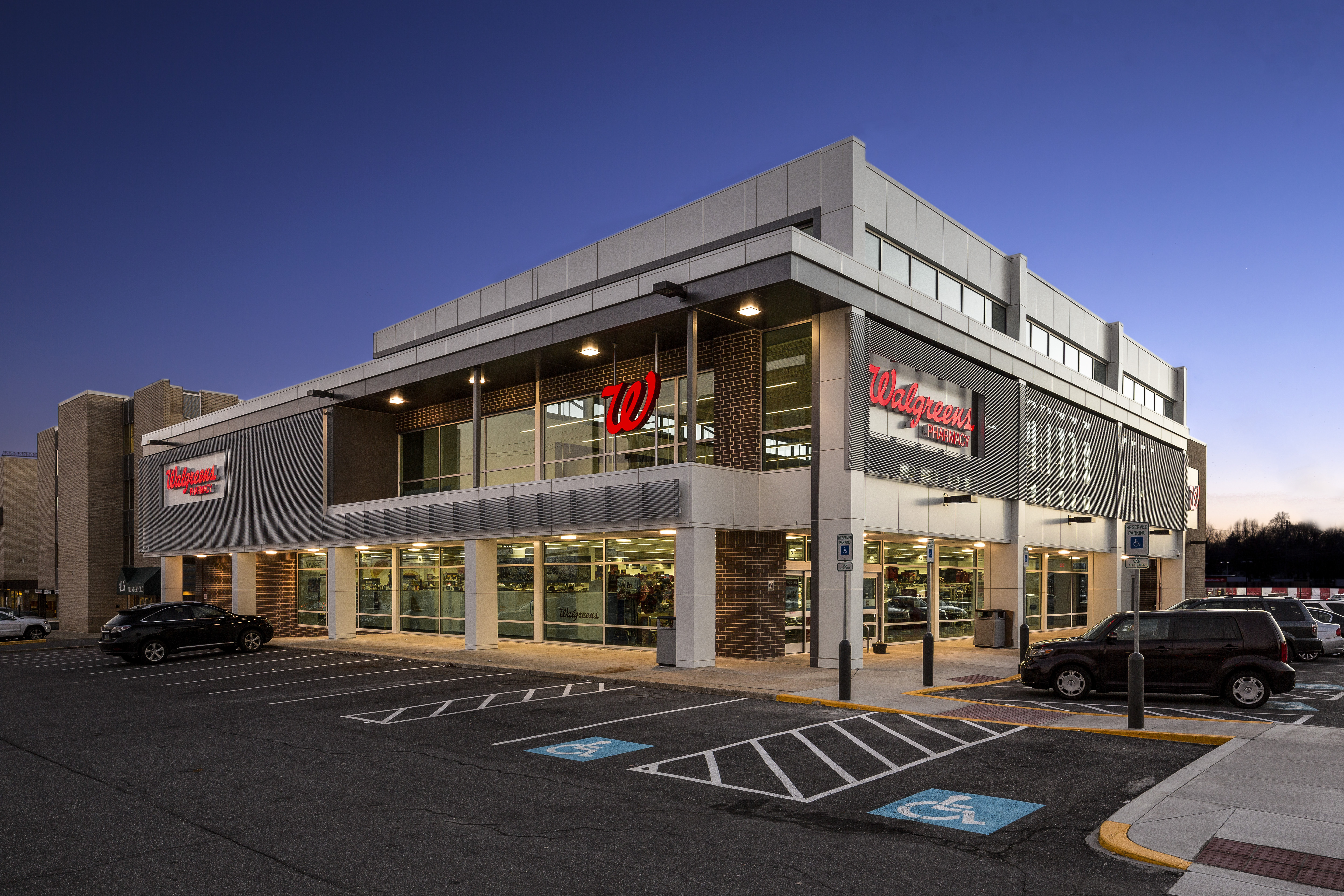 Walgreens Architect Magazine Gtm Architects Rockville Md United States Commercial