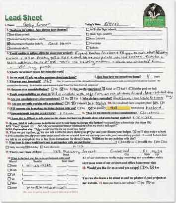Save Time With A Lead Sheet Jlc Online