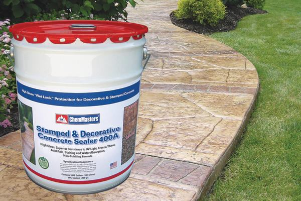 Chemmasters Inc Stamped Amp Decorative Concrete Sealer