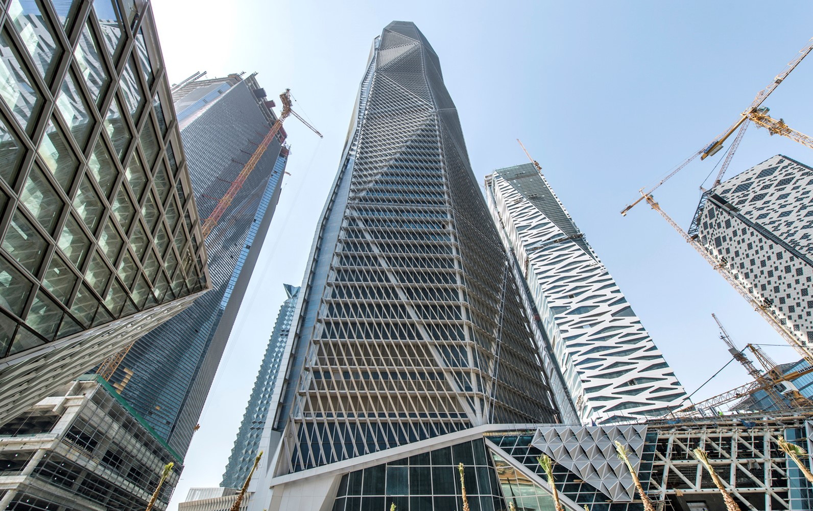 Capital market authority tower architect magazine hok for Construction architect