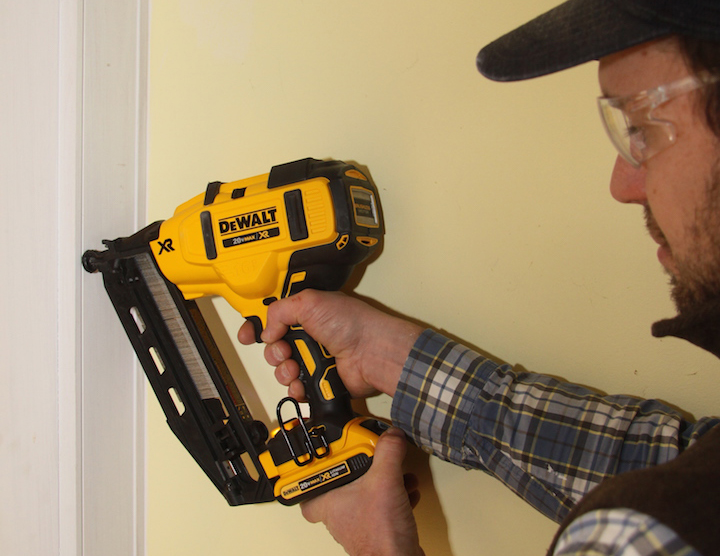 Field Tested Dewalt Dcn660 Finish Nailer Jlc Online