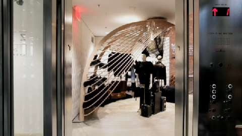 Riding The Elevator At Dover Street Market Architect