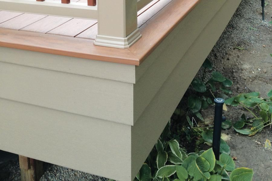 Upgrade To A Tiered Fascia Professional Deck Builder