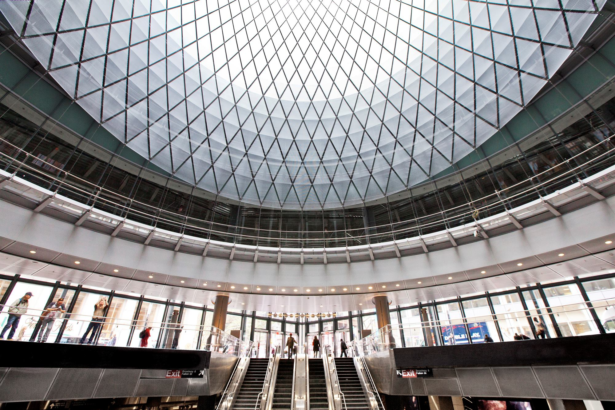 Fulton Center In Lower Manhattan Reopens After 13 Years