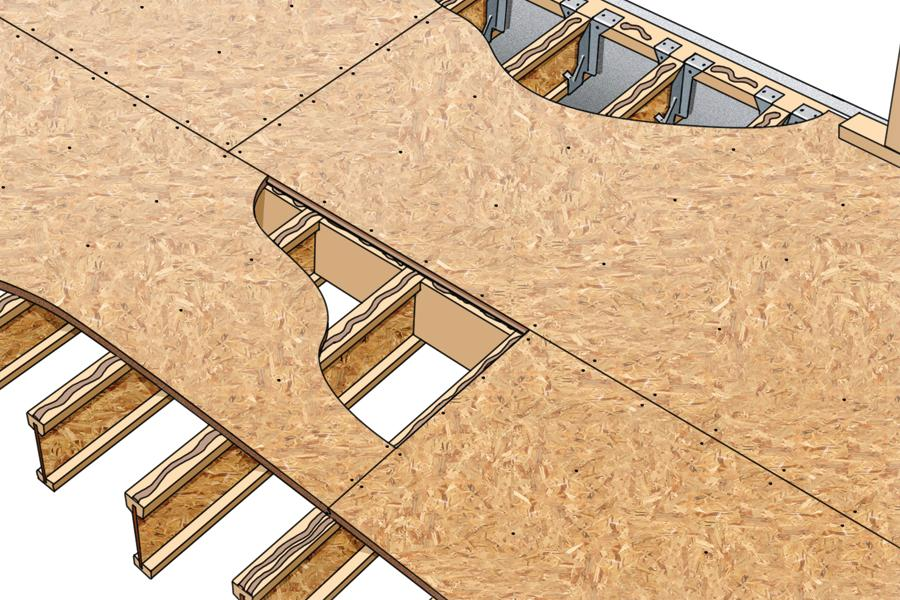 How to get the bounce out of floors prosales online Floor joist trusses