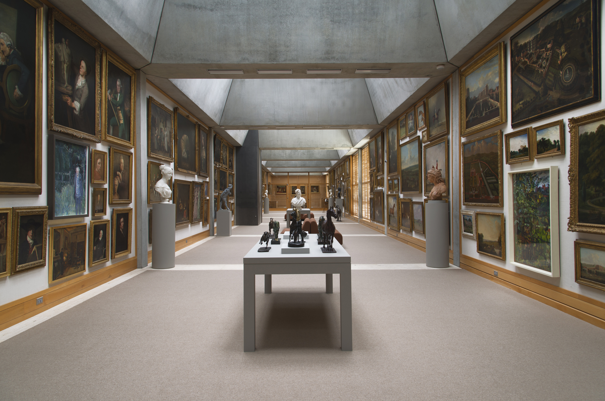 Inside the newly restored yale center for british art architect magazine historic for Art institute interior design reviews