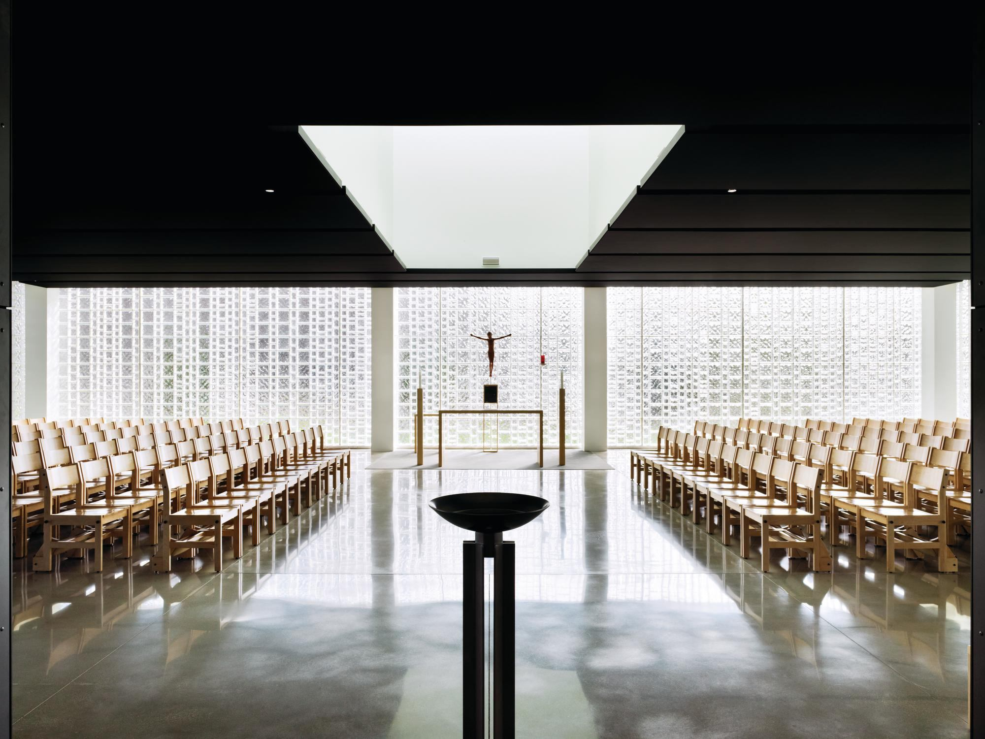 chapel of st ignatius of loyola architect magazine religious