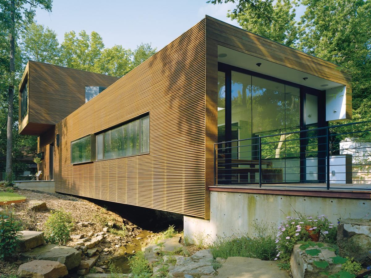 L Stack House Fayetteville Ark Architect Magazine