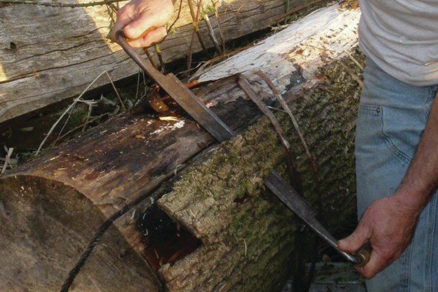 Debarking Red Cedar Logs Jlc Online