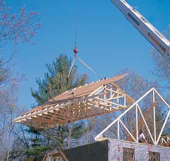 Building Truss Roofs The Safe Way Jlc Online Framing