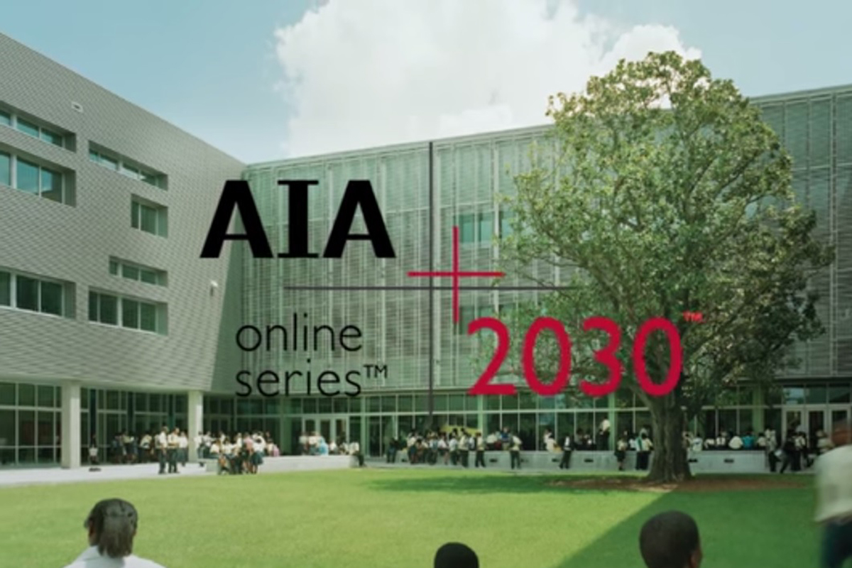 New Aia Online Series Educates Architects On 2030