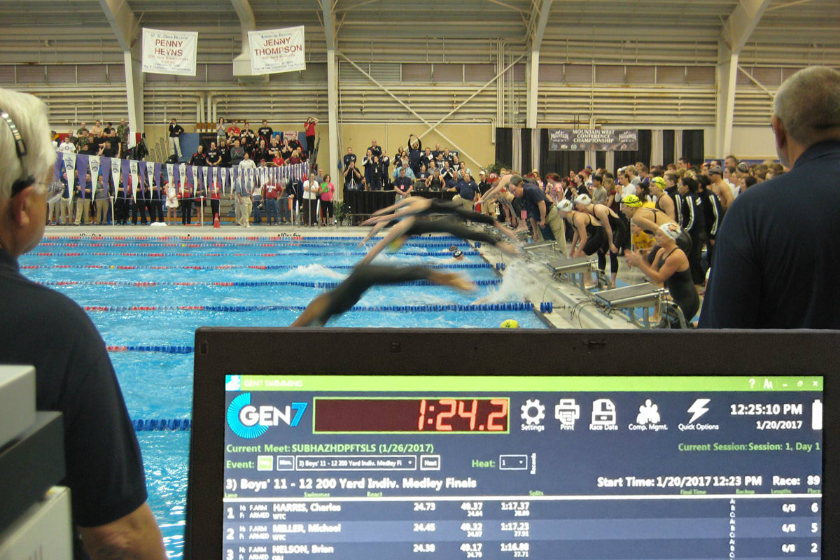 Colorado Time System Introduces Gen7 Swim Timing And